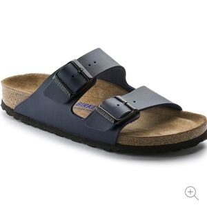 Birkenstock Arizona Softbed- Navy Blue  Sz 39